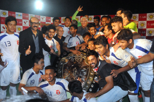 TFA became the lucky winner of LG IFA SHIELD U-19 TOURNAMENT 2015-16