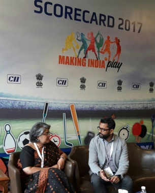 Good to be part of #CII #Scorecard2017 #MinistryofYouth aim is to create an opportunity and eco system to encourage maximum number of children to play sports #India #Football