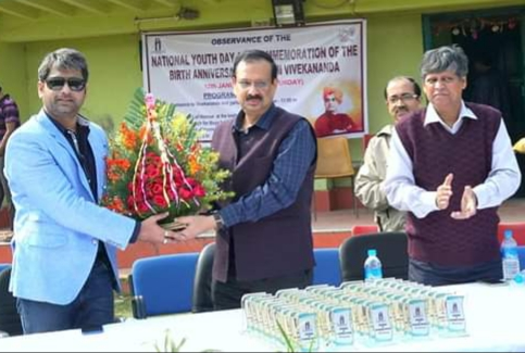Thank you #IIEST Shibpur @ParthasarathiChakraborty#Director, for inviting me on observance of The National Youth Day