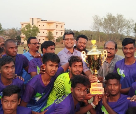 #SambhalpurFootballAcademy finished runner-up in Inter Academy #Championship #Odisha